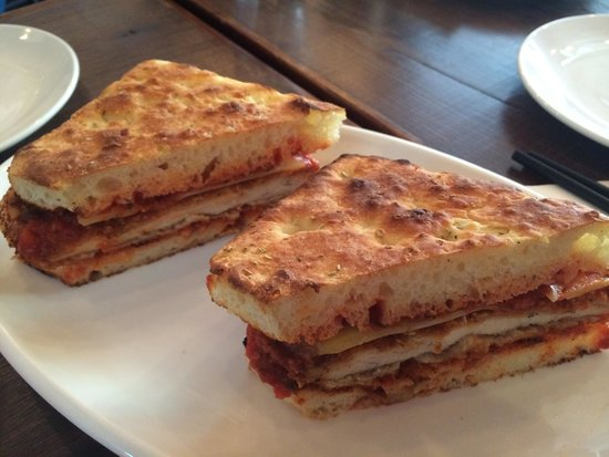 Brooklyn Pizza Express: Chicken Parm Sandwich