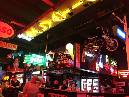 Fat Bob's Bar and Grill: View from table