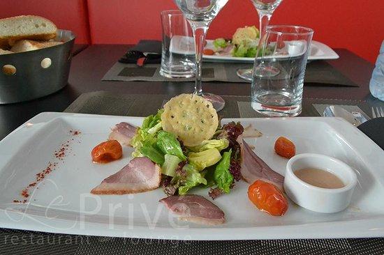 Le Privé Restaurant: Salade