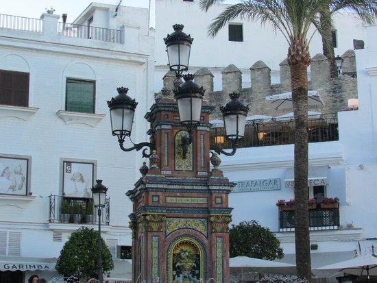 Segway Tours Vejer: Plaza de Vejer