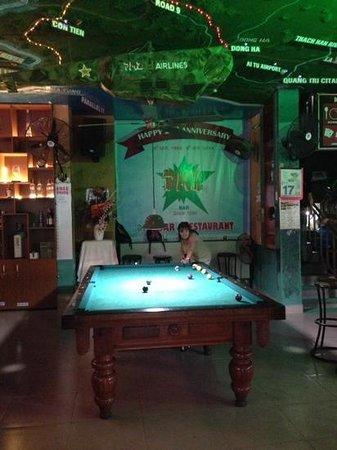 DMZ bar: free pool