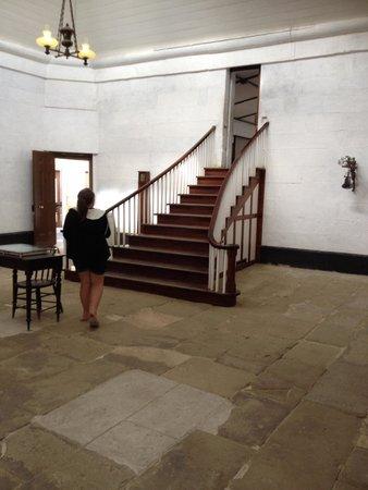 Site historique de Port Arthur : Steps to the church in the solitary unit