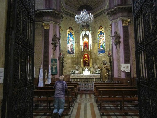 Church of San Mateo: Altar Mayor