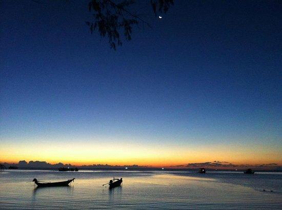 Sairee Cottage Resort: fine evening at Sairee Cottage