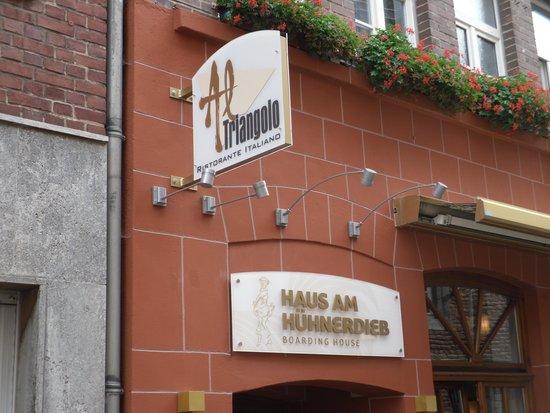 Haus Am Huhnerdieb Hotel: Ingresso