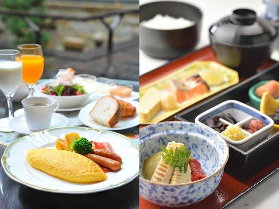 كيوتو طوكيو هوتل: 朝食/Buffet & Japanese breakfast