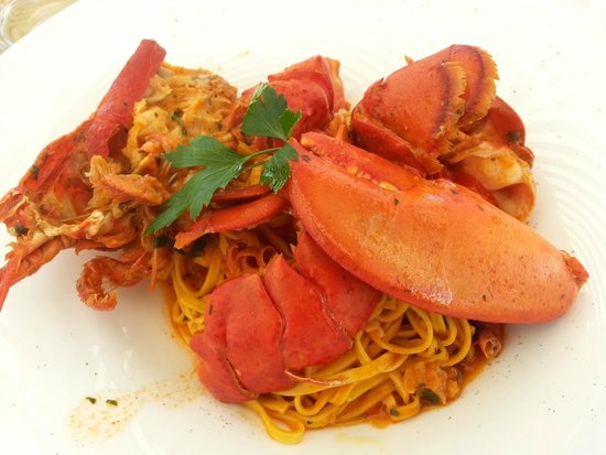 Walthers': lobster pasta