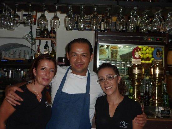 El Rincon de Murillo: La très sympatique équipe (serveuses et cuistot)