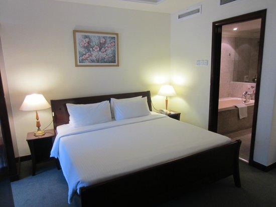 بيرجايا تايمز سكوير هوتل: Bedroom