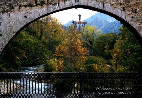 La Casona de Con: Puente romano de Cangas de Onís
