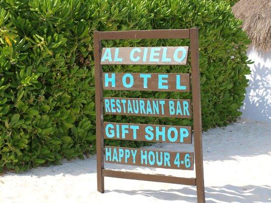 Al Cielo Hotel: Favourite hour: 4-6.