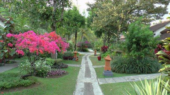 Margo Utomo Agro Resort & Cottages: tuin