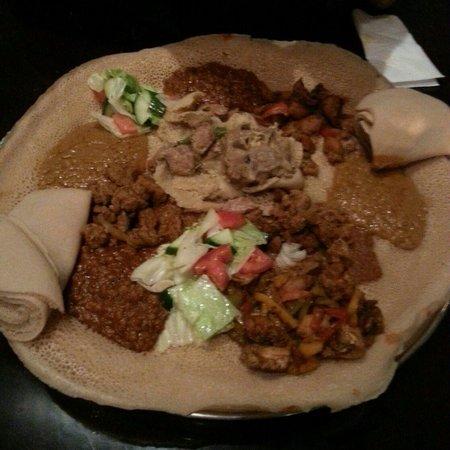 Zeret Kitchen: sharing plate