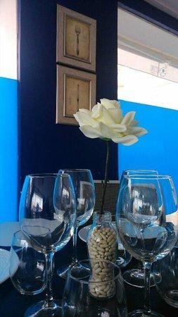 Restaurante Neptuno: Decoración sala