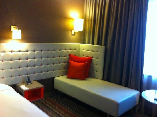 بولمان لندن سانت بانكراس: Lounge/sofa area