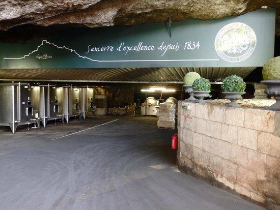 Domaine de la Perrière: visite gratuite