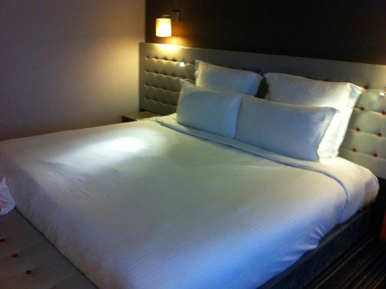 بولمان لندن سانت بانكراس: Super large bed