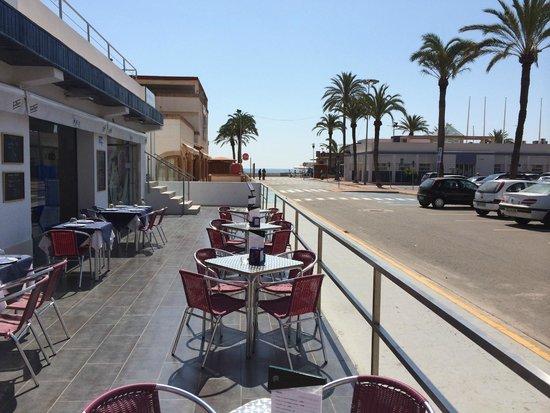 Restaurante Neptuno: Terraza 2