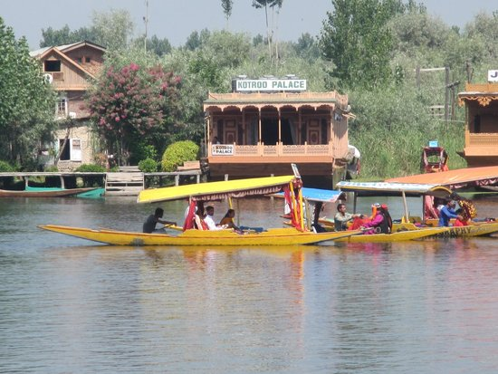 فيفانتا باي تاج - دال فيو سريناجار: Shikaras e floating hotels