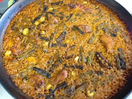 Restaurante Neptuno : Paella Valenciana