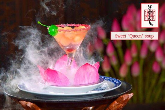 """Nhà hàng Mandarine: Sweet """"Queen"""" soup"""
