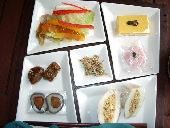 Jilsiru Tteok Cafe : 韓国のお餅のセット