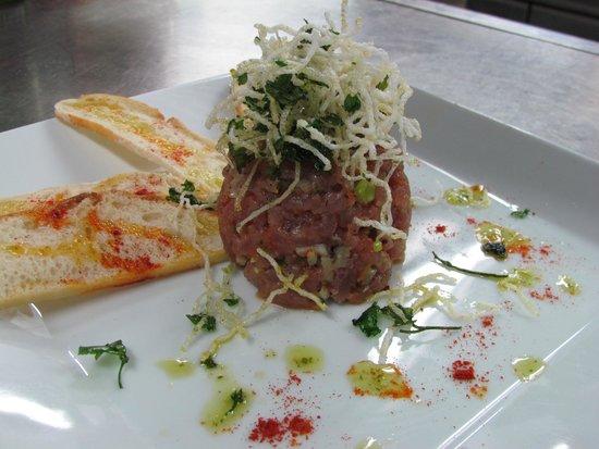 Soma Restaurant & wine bar: tartaro de atún de aleta amarilla