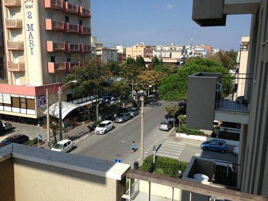 هوتل أسكوت: фото с балкона