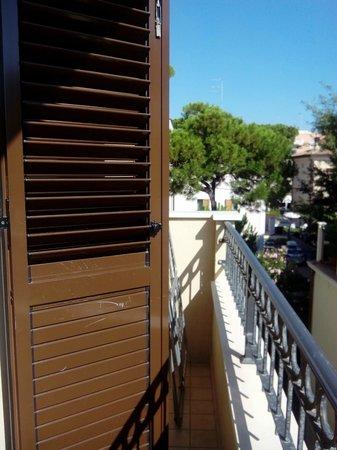 Residence Villa Souvenir: panorama dalla finestra