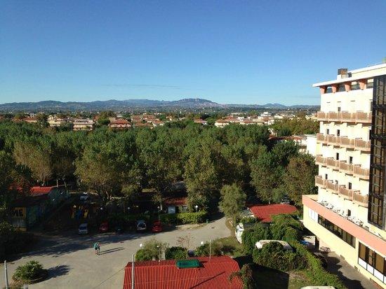 هوتل أسكوت: Вид на Сан-Марино