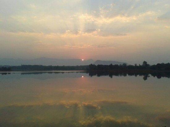 Sunset @ Kittu's Farm & Resort