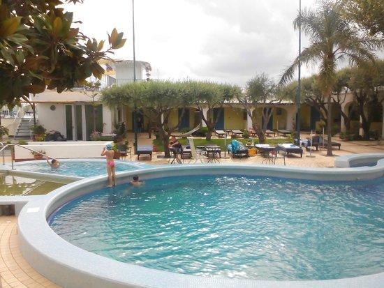 Il Gattopardo Hotel Terme & Beauty Farm: Piscine termali all'aperto