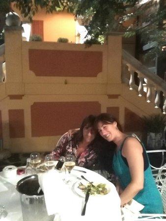 Hotel ANDRIA: Cena romantica