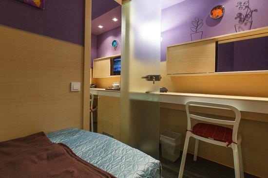 Sleeport Hotel: двухкомнатный стандарт