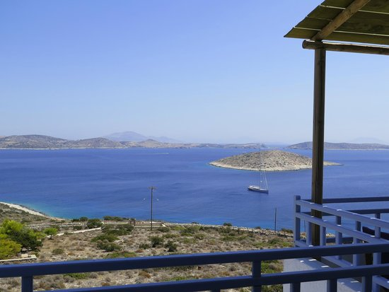 Villa Panorama: Vista da Eros