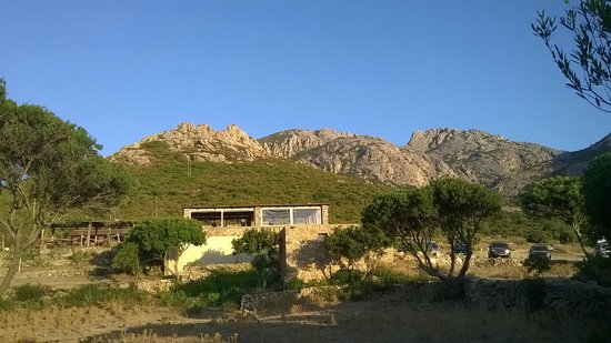 U Nichjaretu: anche il panorama verso i monti merita
