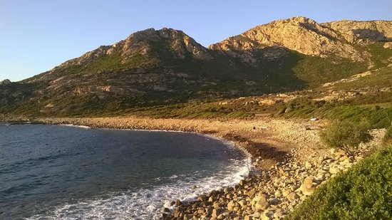 U Nichjaretu: la spiaggia antistante il ristorante