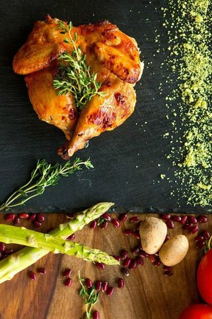 Barberry Club Restaurant: Цыпленок в имбирном соусе