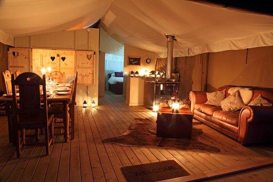 Thornham Bay - Wild Luxury: Wild Luxury looking in