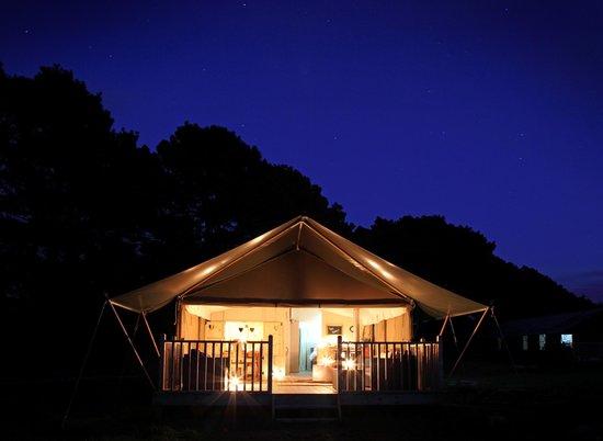 Thornham Bay - Wild Luxury: Wild Luxury at night