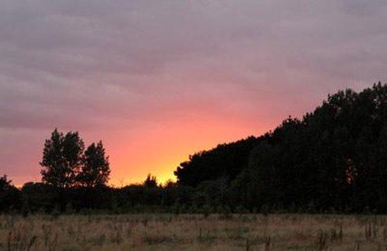 Thornham Bay - Wild Luxury: Wild Luxury sunset