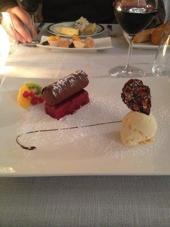Le Saint PIERRE: Le dessert