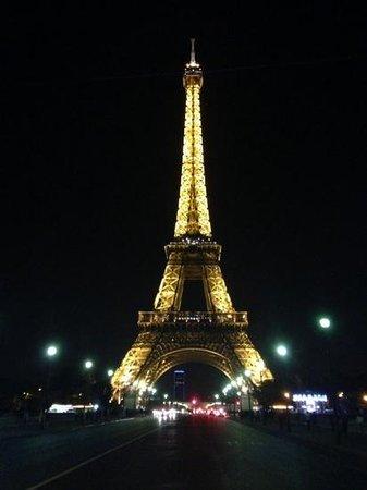 Mercure Paris Centre Eiffel Tower Hotel: Eiffel tower