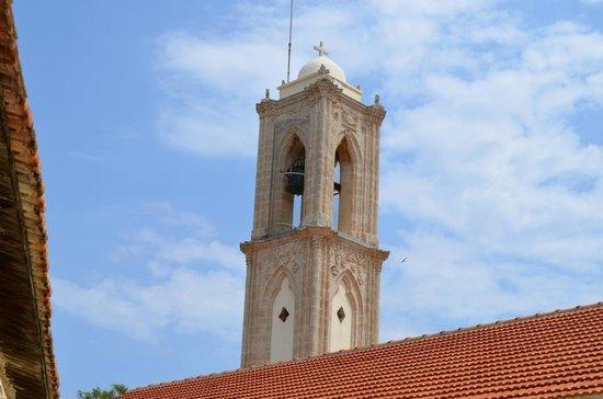 Pano Lefkara, قبرص: колокольня