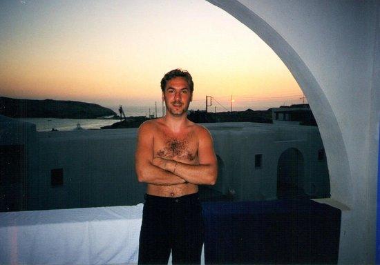 Hotel Katerina: tramonto in camera