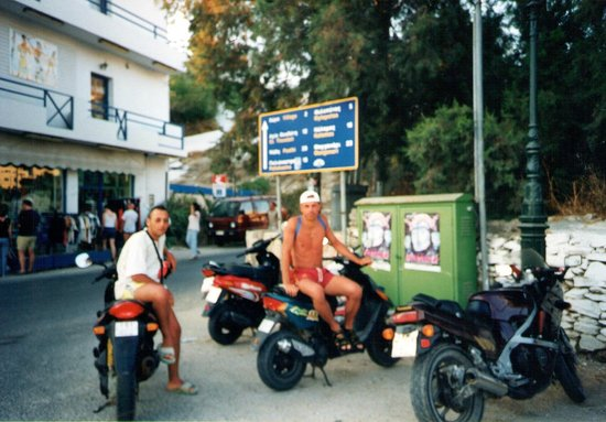 Hotel Katerina: noleggio scooter