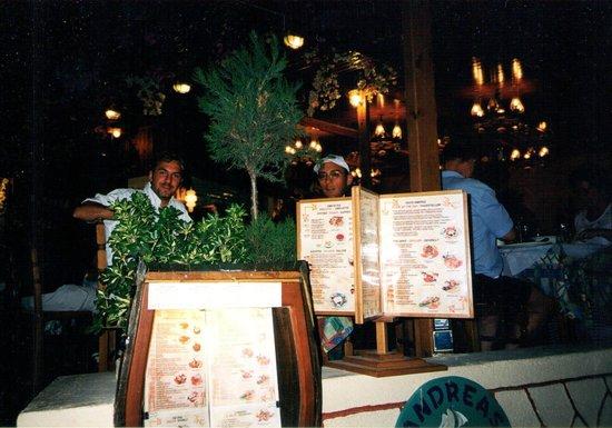 Hotel Katerina: ristorante Santorini