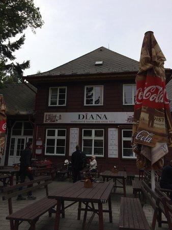 Restaurant Diana: Фасад