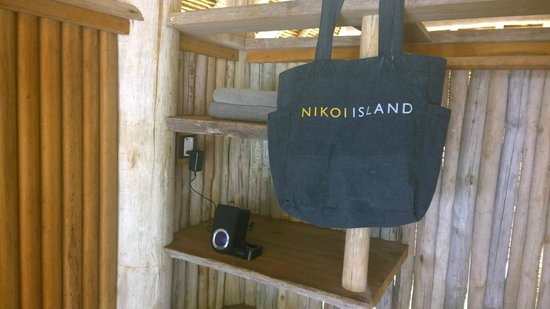 ‪‪Nikoi Island‬: Thoughtful amenities‬