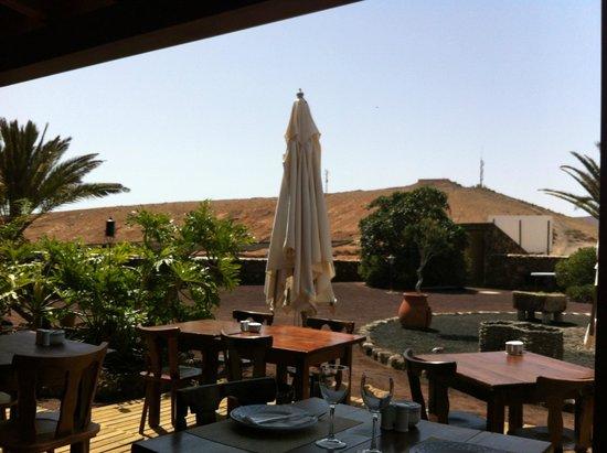 Restaurante Mahoh: terrasse